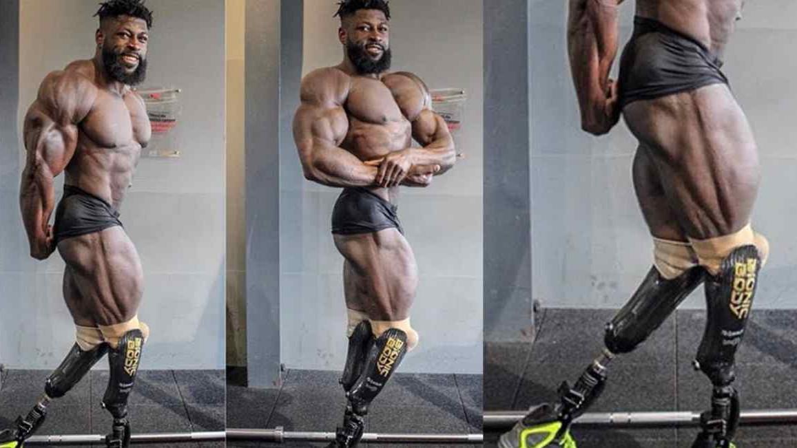 Izgubio je obje noge u stravičnoj nesreći, ali to ga nije zaustavilo da postane prava mašina