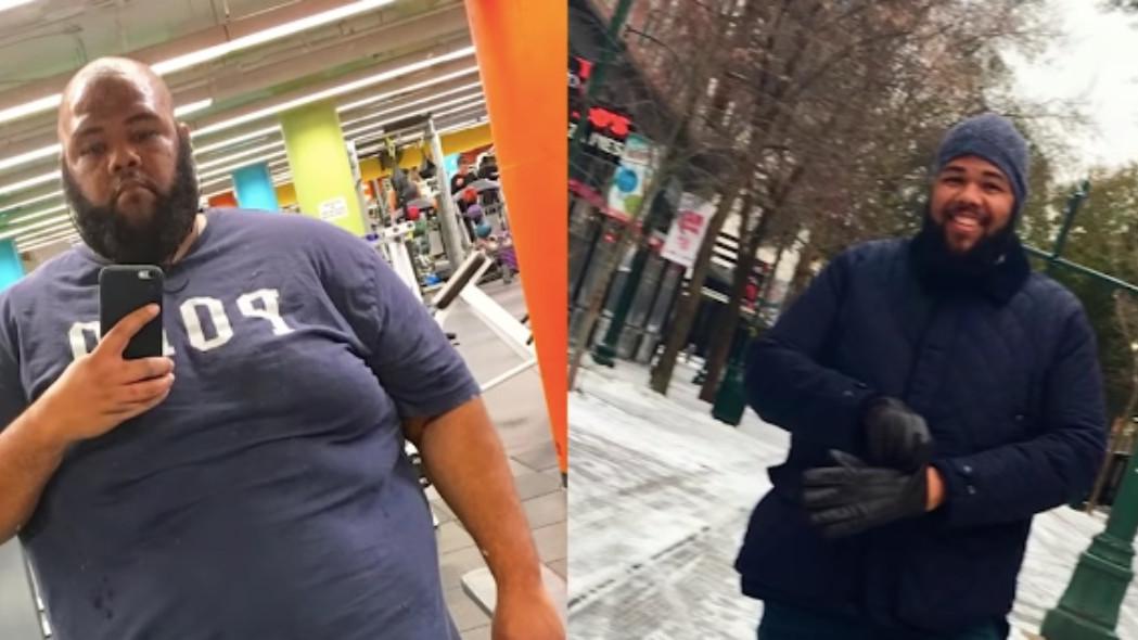 Jednostavne promjene su mu pomogle da izgubi 115 kilograma za dvije godine