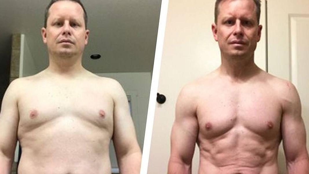 Realan plan ishrane i treninga mu je pomogao da izgubi skoro 20 kilograma