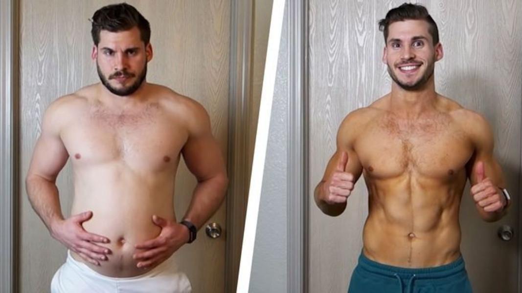 Riješio se stomaka i isklesao tijelo za 3 mjeseca