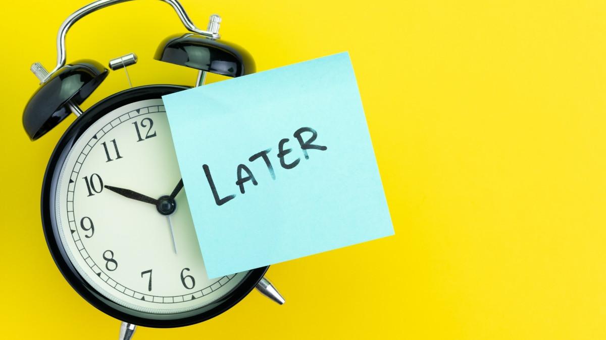 Kako se izboriti s prokrastinacijom?
