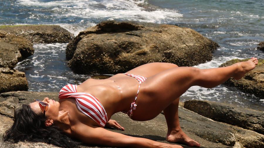 Opsjednuta vježbanjem i svojim tijelom: Vatrena Caron nastavlja dominirati