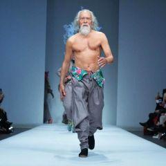 80-godišnjak apsolutni hit kineskog Fashion Weeka