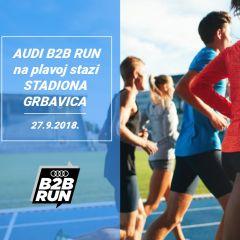 AUDI B2B RUN trkače vodi na plavu stazu Grbavice