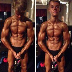 Najmlađi bodybuilder takmičar u Velikoj Britaniji