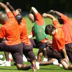 Kružni trening za snagu i izdržljivost fudbalera