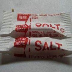 Paketić soli u džepu može biti spasonosan