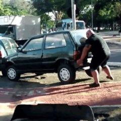 Ovako izgleda kada se jedan strongman naljuti