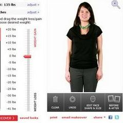 Kako biste izgledali sa manje ili više kilograma?
