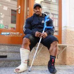 Roelly Winklaar slomio nogu, pa osvojio zlato
