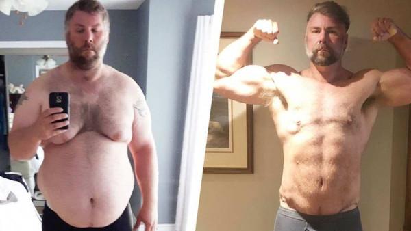 Nakon infarkta je odlučio da uzme zdravlje u svoje ruke i potpuno transformisao izgled
