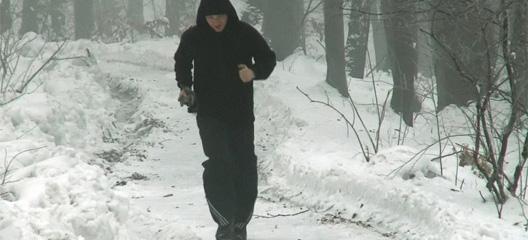 Trčanje po snijegu