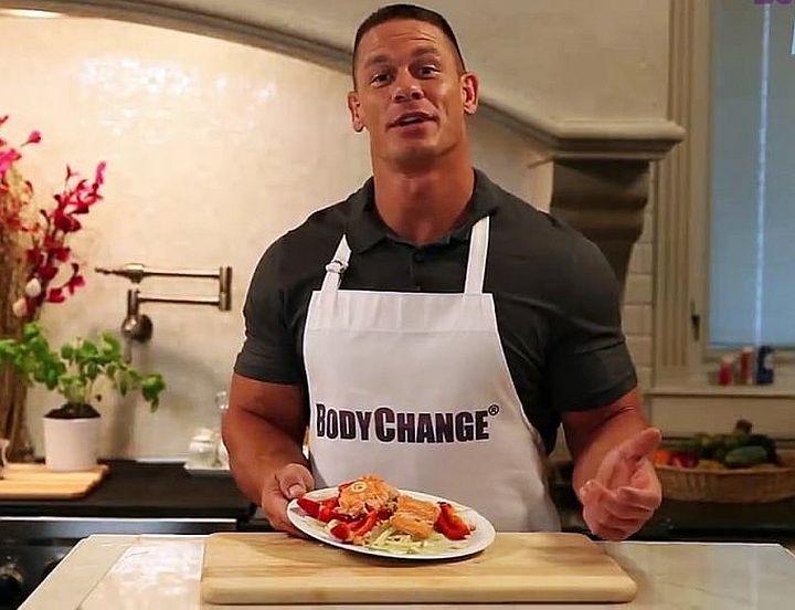 John Cena i njegova kombinacija treninga s ishranom