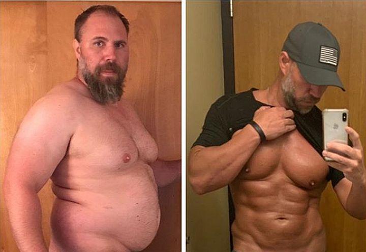 Dramatična transformacija: Izgubio je 41 kilogram za samo 5 mjeseci