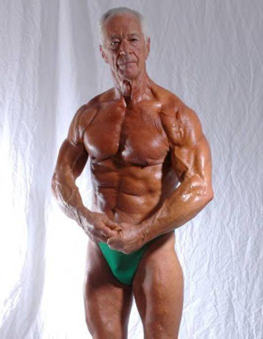 Veliki penis bodybuilderi